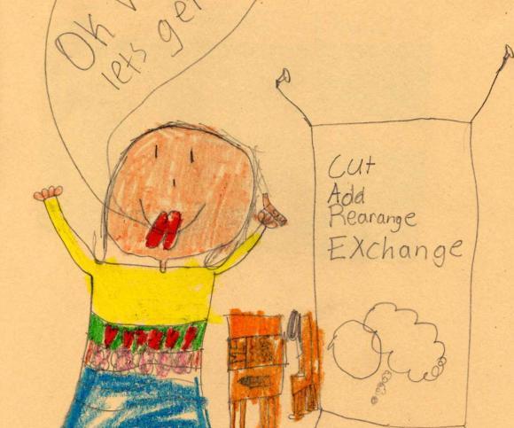 Illustration by Georgie, Second Grade