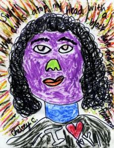 chelsey self portrait