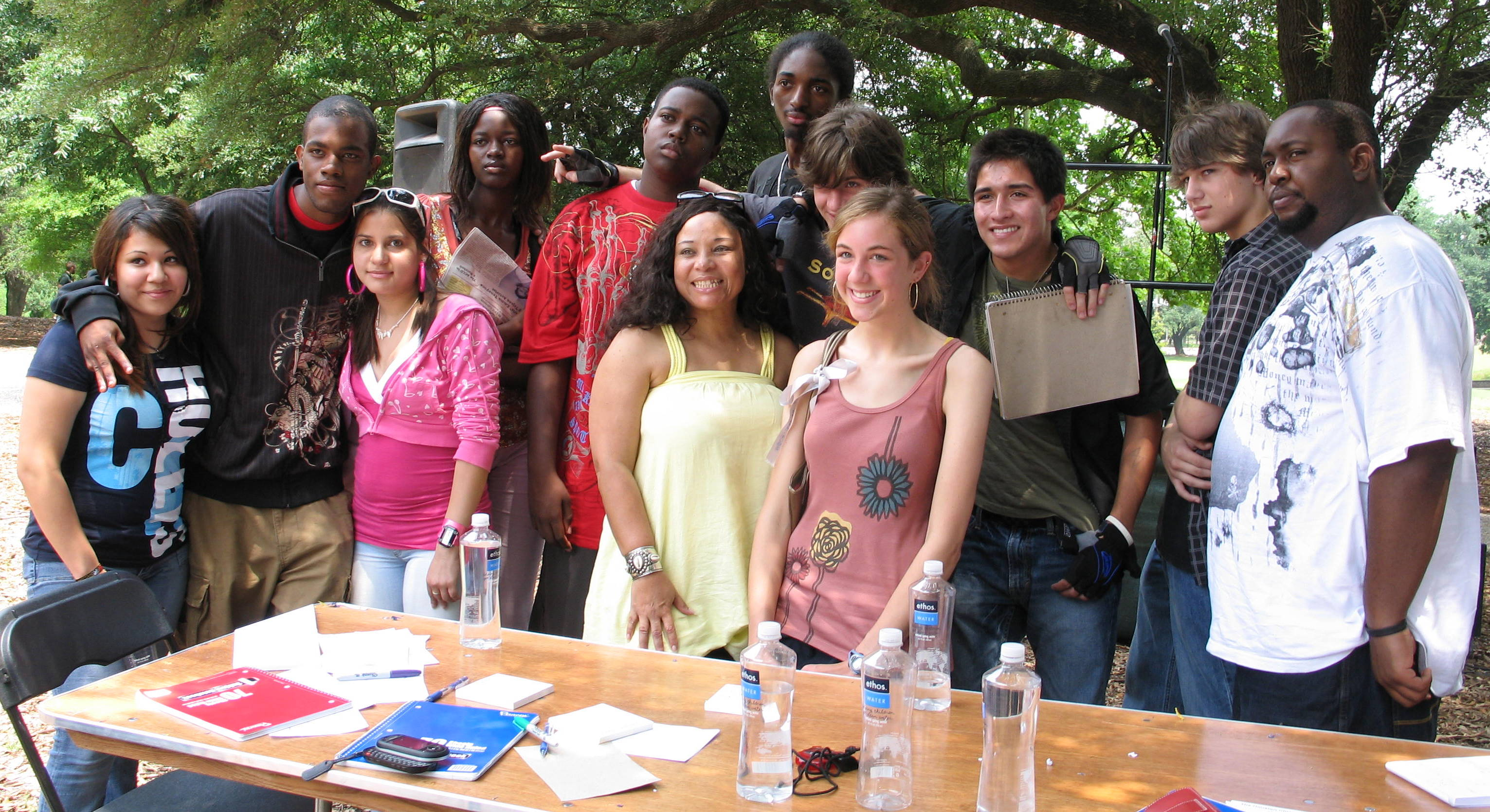 Young Houston Writers, May 2008