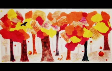 halloween art by nicki