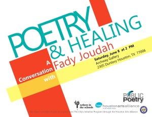 Poetry & Healing Flyer June 2013