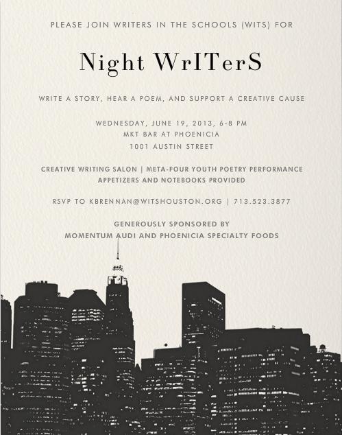 Night Writers Invite